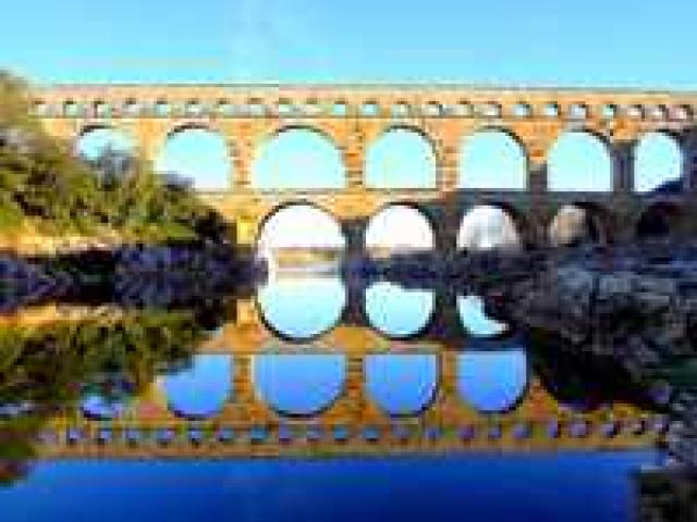 Акведук Пон-дю-Гар во Франции: история, описание