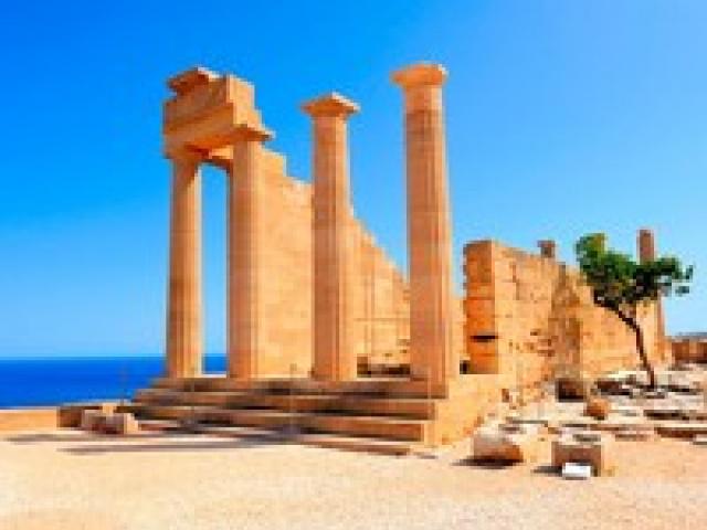 Акрополь Линдоса в Греции: история, описание, фото