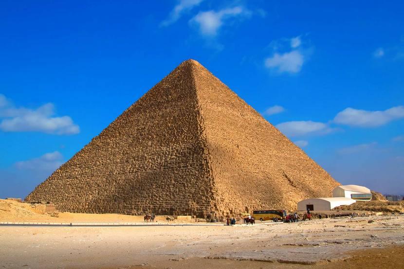 Семь чудес Пирамида Хеопса