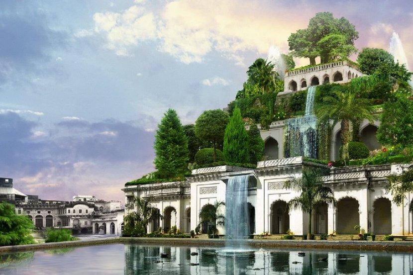Семь чудес сады Семирамиды