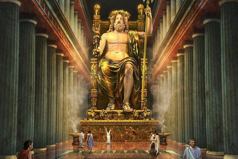 Семь чудес Статуя Зевса