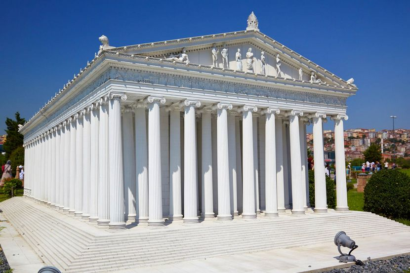 Семь чудес Храм Артемиды