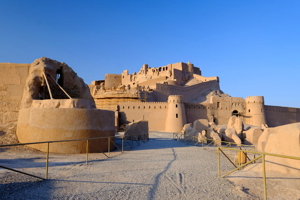 Крепость Арг-е Бам в Иране