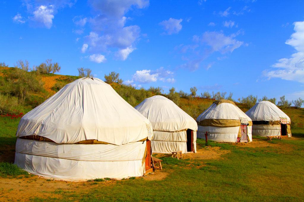 Юрта Казахская Фото