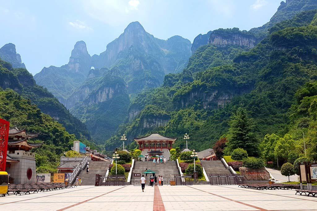 Гора Тяньмэнь в Китае Гора Тяньмэнь Гора Тяньмэнь, Китай gora tyanmen 2