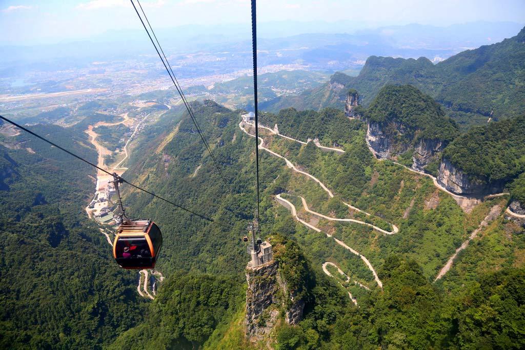 Гора Тяньмэнь в Китае Гора Тяньмэнь Гора Тяньмэнь, Китай gora tyanmen 5