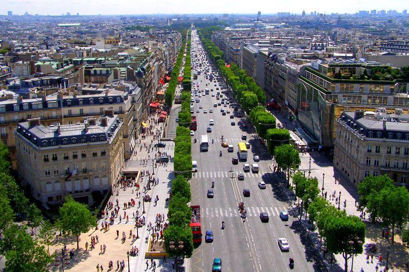 Доклад про елисейские поля в париже 2228