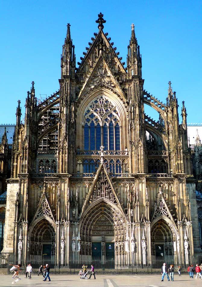 фото кёльнский собор