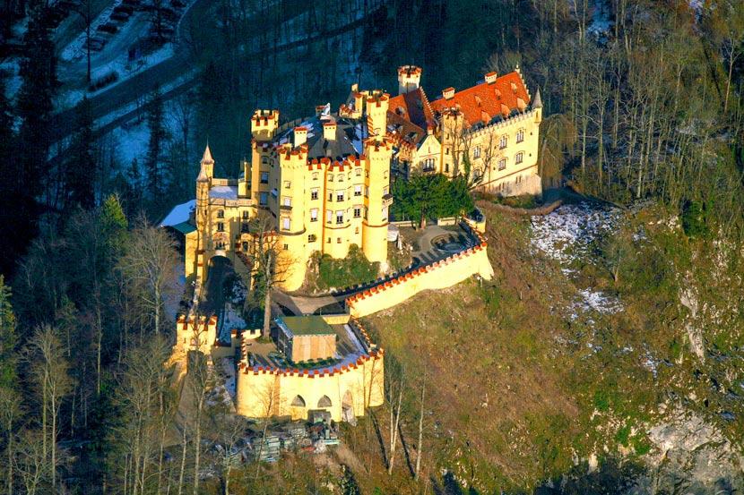 фото германия замок хоэншвангау