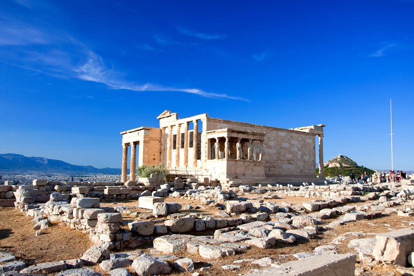 Храм Эрехтейона в Афинах