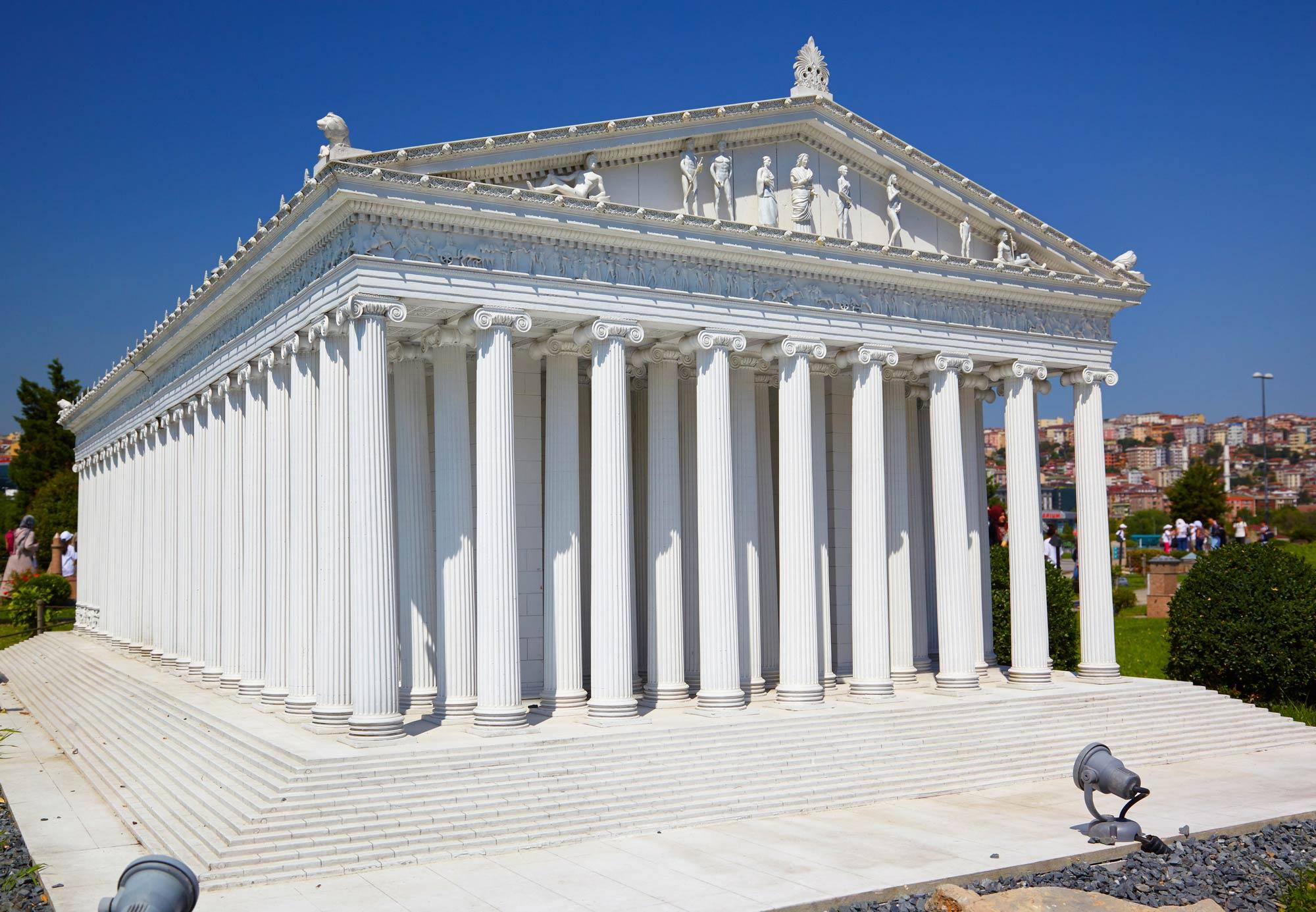 храм артемиды в эфесе картинки