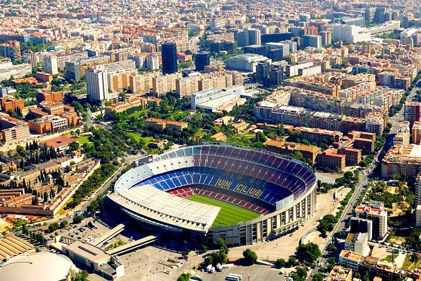 Стадион Камп Ноу: описание, история, фото Стадион Барселоны Вместимость