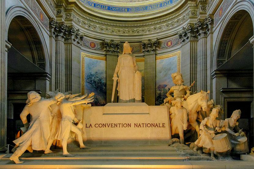 Церковь женевьевы в париже