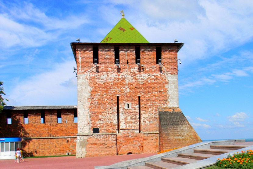 Фото всех башен нижегородского кремля