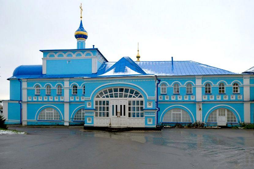 Николо-Шартомский монастырь в Ивановской области