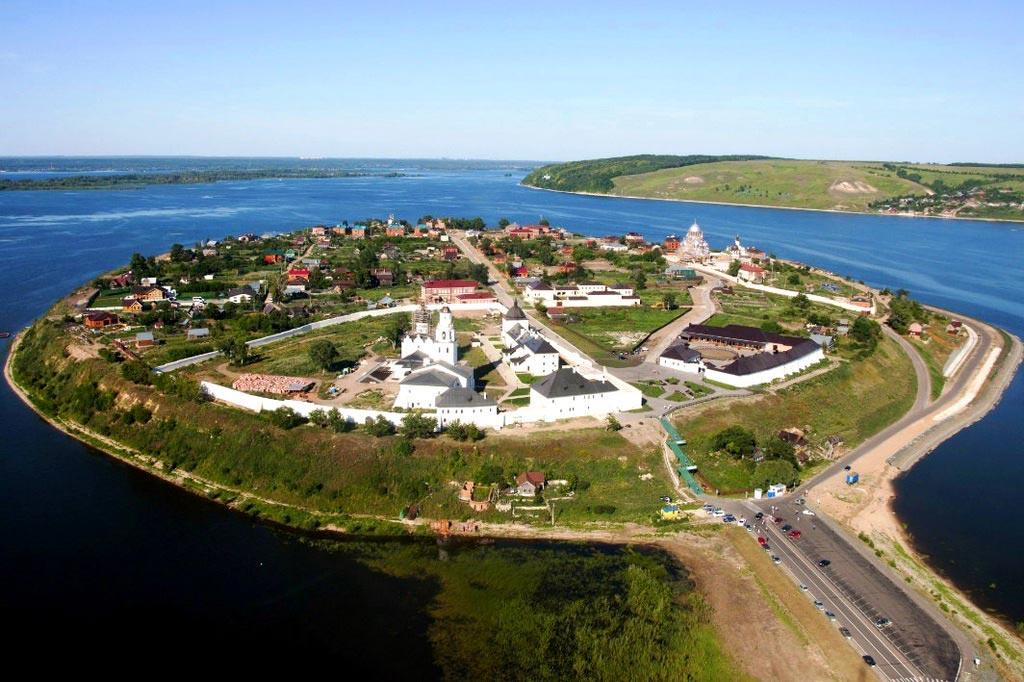 Свияжск в Татарстане