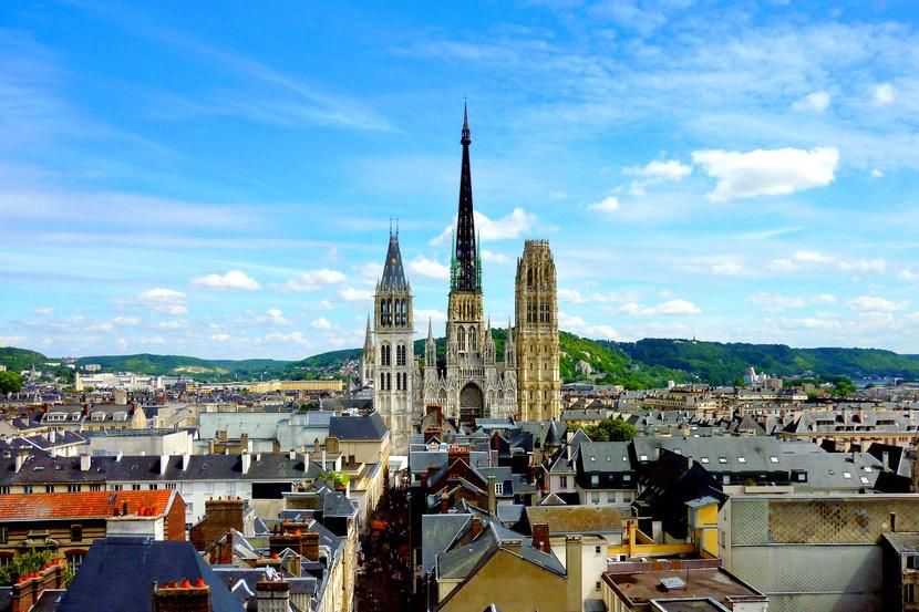 Руанский кафедральный собор во Франции