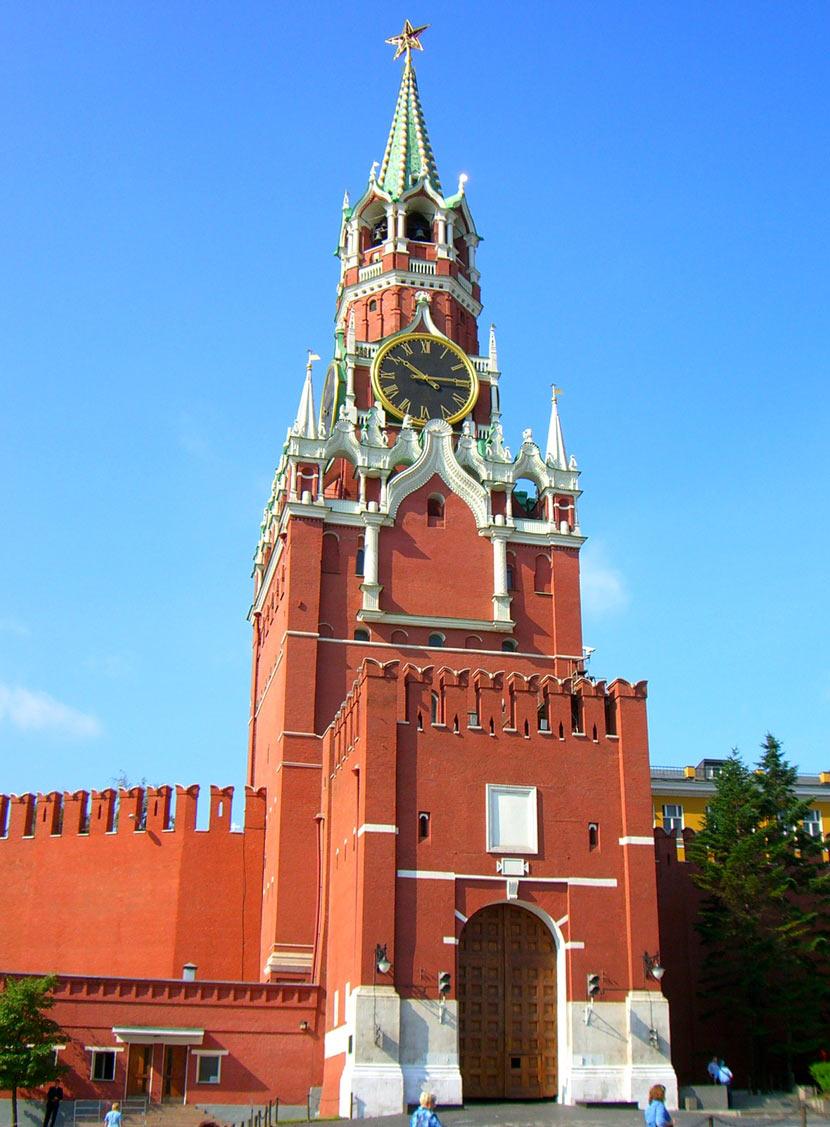 фото кремля спасская башня