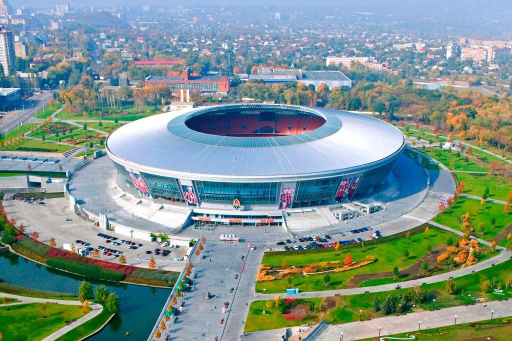 Донбасс Арена на Украине: история, описание, фото
