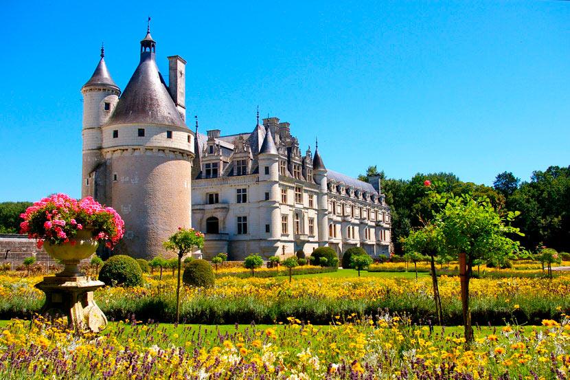 фото замок шенонсо
