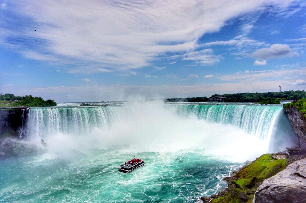 ниагарский водопад фото со стороны сша придания нового вида